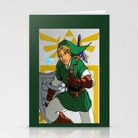 The Legend Of Zelda: Lin… Stationery Cards