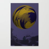 Planet Canvas Print