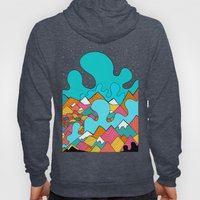 Splash Of The Mountains  Hoody