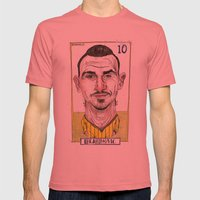 ZLATAN Mens Fitted Tee Pomegranate SMALL
