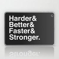 Harder, Better, Faster, … Laptop & iPad Skin