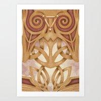 Raised by Mystics Art Print