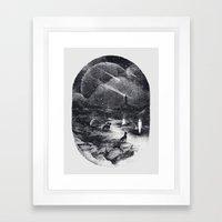 Strangers Framed Art Print