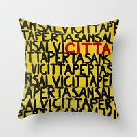 Citta Throw Pillow