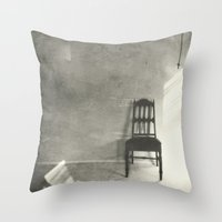Chair Series No.3 Throw Pillow