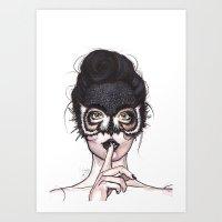 Shh.. Art Print