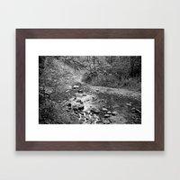 Waterfall Glen Framed Art Print