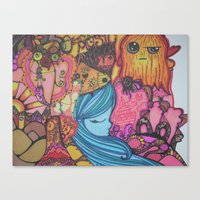 Colorful Happiness Canvas Print
