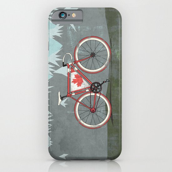 Love Bike, Love Canada iPhone & iPod Case