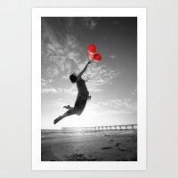 Balloons Of Hope Art Print