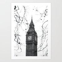 Large Ben Art Print