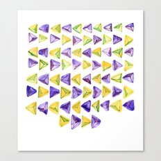 Triangle Relationship (I) Canvas Print