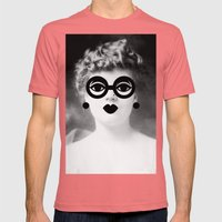 Modern Molly Mens Fitted Tee Pomegranate SMALL