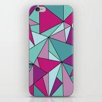 Purpinklue iPhone & iPod Skin