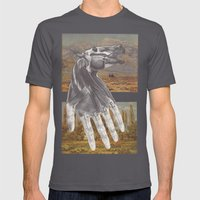 Untitled Mens Fitted Tee Asphalt SMALL
