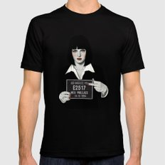 Mia SMALL Mens Fitted Tee Black