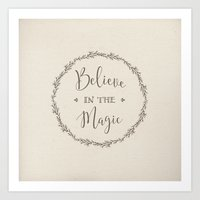 Believe In The Magic Art Print
