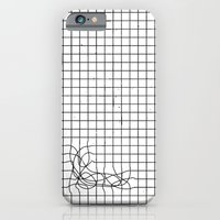 iPhone & iPod Case featuring Haywire by Mr. E