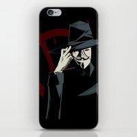 V for Vendetta (e1) iPhone & iPod Skin