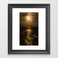 I'll Sail Away  Framed Art Print