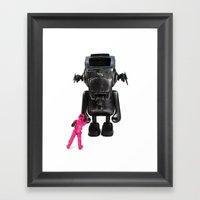 Dudebox Customs | No: 03… Framed Art Print