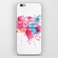 The King iPhone & iPod Skin