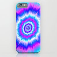 Boom In Blue And Pink iPhone 6 Slim Case