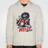 HELLO! HELLO! (white) Hoody