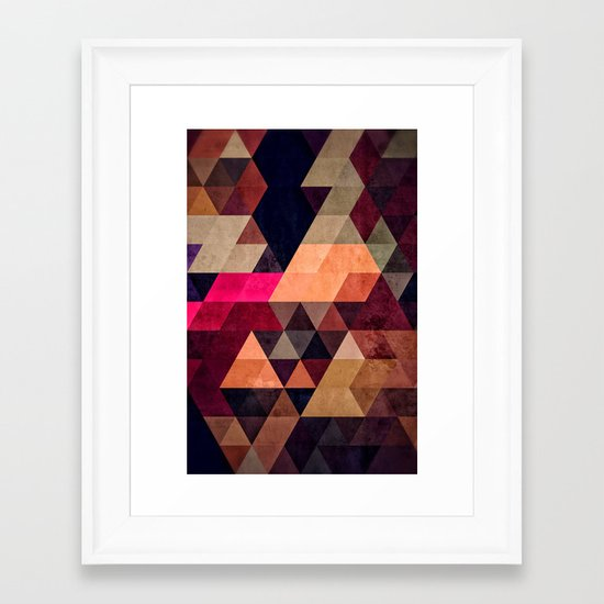 pyt Framed Art Print