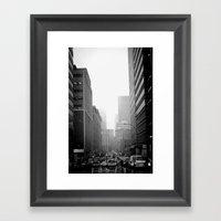 City City Framed Art Print