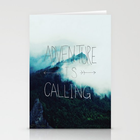 Adventure Mountain Stationery Card