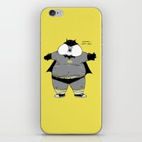 iPhone & iPod Skin featuring Fat Kid Costume by pigboom el crapo