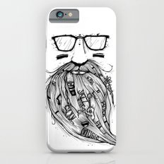 Beard Me Some Music (Black & White) Slim Case iPhone 6s