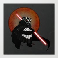 The Panda Menace Canvas Print