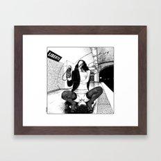 asc 584 - Une Américaine à Paris (My 4th of July in Paris) Framed Art Print