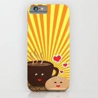iPhone & iPod Case featuring Kape at Pandesal by MUSENYO