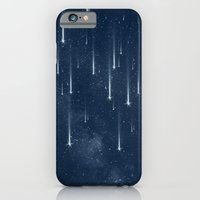 stars iPhone & iPod Cases featuring Wishing Stars by Paula Belle Flores