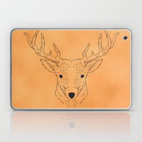 Deer Lines Laptop & iPad Skin