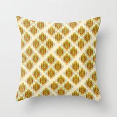 60's Pattern Throw Pillow