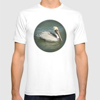 Pelican Mens Fitted Tee White SMALL