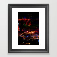 Macau Lights Framed Art Print