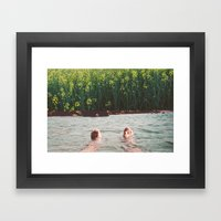 Lander Framed Art Print