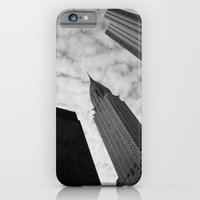 iPhone & iPod Case featuring NY clouds by Constanza Ruiz