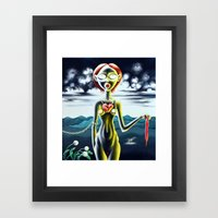 We are Tender Predators  Framed Art Print