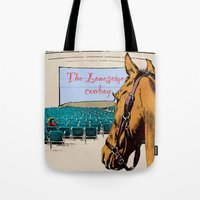 Lonesome cowboy Tote Bag