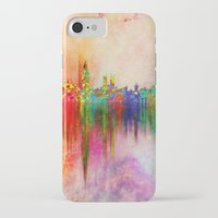 london iPhone & iPod Cases featuring london by mark ashkenazi