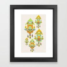 Clock Wall Framed Art Print