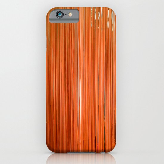 ORANGE STRINGS iPhone & iPod Case