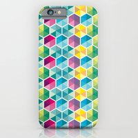 iPhone & iPod Case featuring Geometric Pattern by The Babybirds