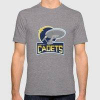 Starfleet Cadets Mens Fitted Tee Tri-Grey SMALL